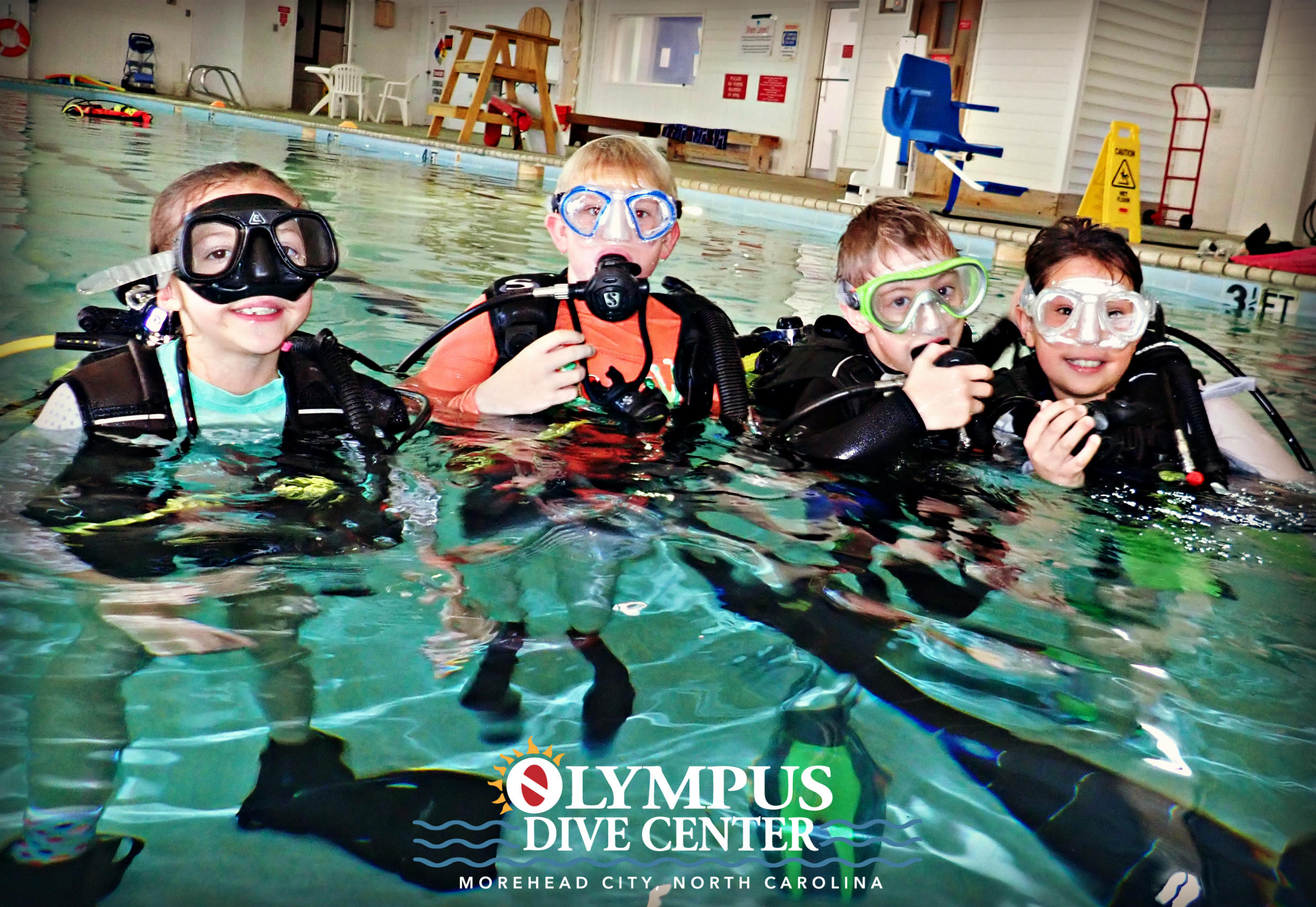 It's A Family Affair At Olympus Dive Center