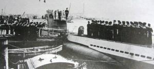 U-352 in Port